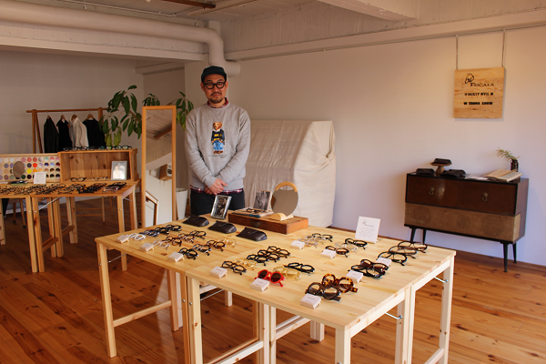 カフェと眼鏡@aire ameno