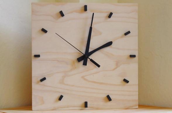 壁掛け時計DIY